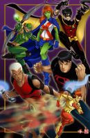 Young Justice _COLLAB_ by TyrineCarver