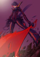 Ryuko kill la kill by Gary-Vanaka