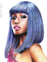 Nicki Minaj by Irishaaa