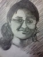 Self portrait by TaniSumedha