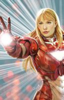 Pepper Potts by DandyBee