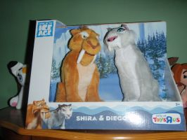 Ice Age Diego and Shira *FOR SALE* by ShinyToyDinosaurs