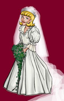 Marianne as Lady Diana Spencer by BloodyWilliam