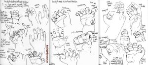 Hand Poses -Fast Tutorial- by NoneOnly