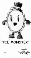pie monster by evil-bug