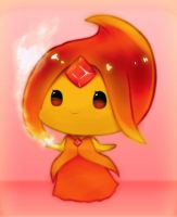 AT: Flame Princess by BlueWindmill