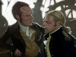 Master and commander by bangalore-monkey
