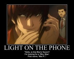 Motivation - Light on the Phone by Songue