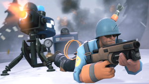 Battle Engie by iKonakona