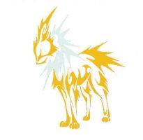 Jolteon Tribal desine by funkyjam175