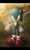 Sonic the Hedgehog by ICEMBL