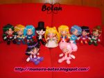 All Sailor Senshi plush ver. by Momoiro-Botan