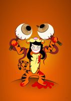 Tigger the Eye Puller by PhantomxLord