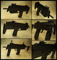 HK MP7A1 by redblackhood