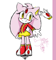Silvia the hedgehog by MariaTheCat66
