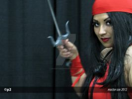Ivy DoomKitty - Elektra Cosplay by adventuresofp2