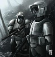 Scout Troopers by RenatusArts