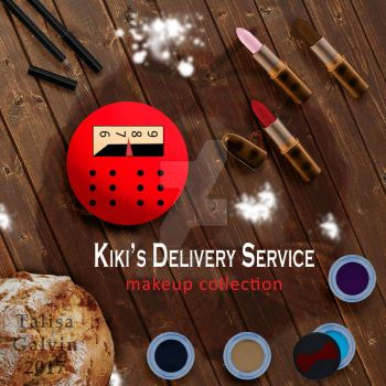 Kiki's Delivery Service Makeup Ad Fake by luckyjadestone