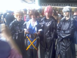 Organisation XIII...and Sora by Kitty-Kat-Gone-Bad