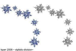 snowflakes bracelet by stylistic-division