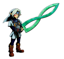 Fierce Deity Link - 3rd Prize by Left-Handed-Knight