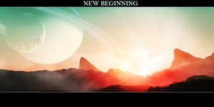 New beginning by Wetbanana