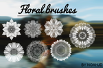 Floral Brushes by noahjd