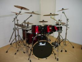 My Drum kit by shaunC