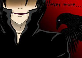 Never more by P-ChanAndP-Kun