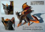 Cat-autumn Verena by hontor