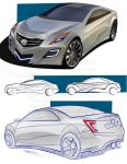 Cadillac STS Concept by SNDesign