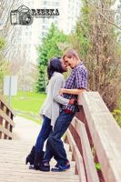 Engagement by RebekaPhotography