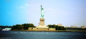 The Statue of Liberty by alfajr