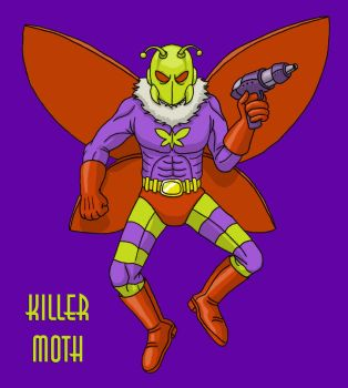 Killer Moth by DoctorChevlong