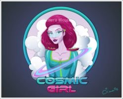 Cosmic Girl by lauramiclea