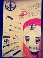 Islamophobia Poster by DreamscapesandWishes