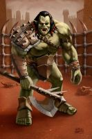 Orc Champion by PVproject