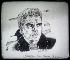Stefan as James Dean by fbforbill