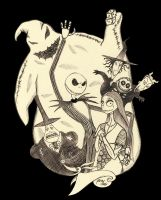 the Nightmare Before Christmas by IslaDelCoco