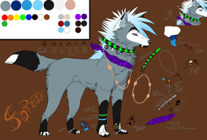 You Make Me....2010 Soren Ref by sundancewolf