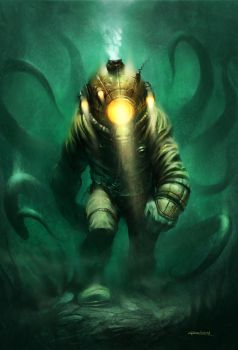 Into the Depths by PReilly