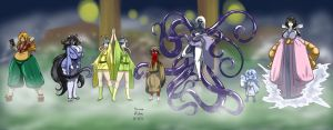 Staff of the Lost Springs colored by Anubis2Pabon288