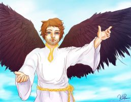 Castiel by kpossibles