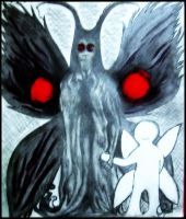 Along comes the Mothman... by neuronboy42