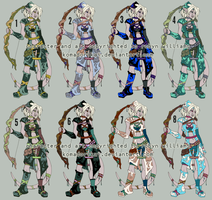 -CIEL- Character Design COLORS by rewynd-studio
