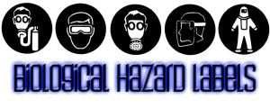 Biological Hazard Labels by CarlosAndres