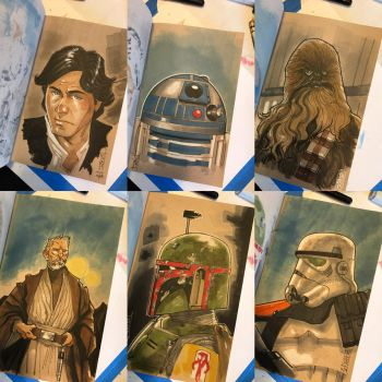 The Star Wars Sketch Book 02 by Hodges-Art