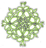modified celtic knot by weyrgirl78