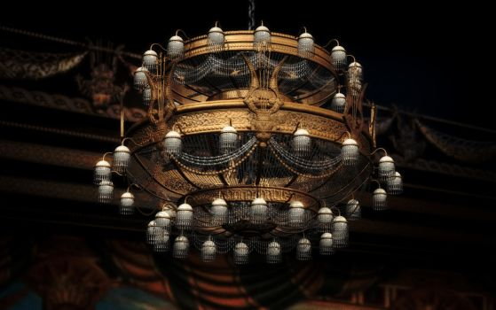 Chandelier (Phantom of the Opera) 3D Render by AEmiliusLives