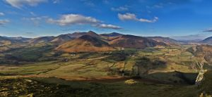 Pano from CatBells by Rebacan
